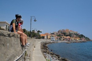 Tour riviera ligure in bici