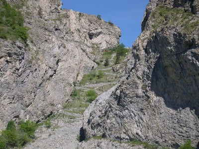 Trekking in Liguria - gola dell'incisa