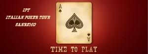Ipt Italian poker tour Sanremo
