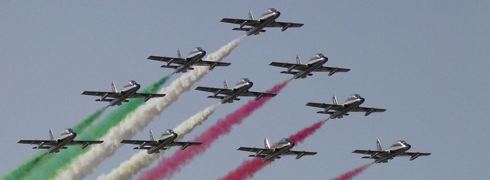 Air Show: Frecce Tricolori in Liguria