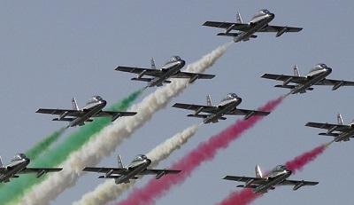 Frecce tricolori in Liguria