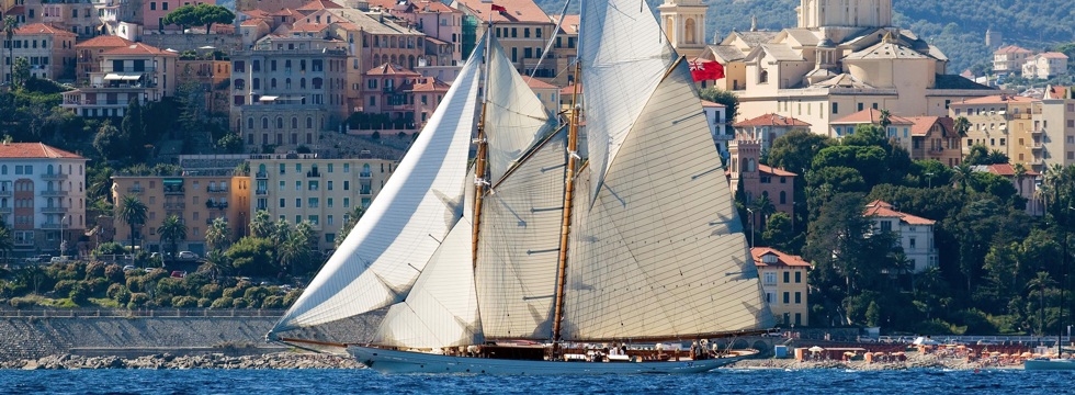 The historic regatta at Imperia