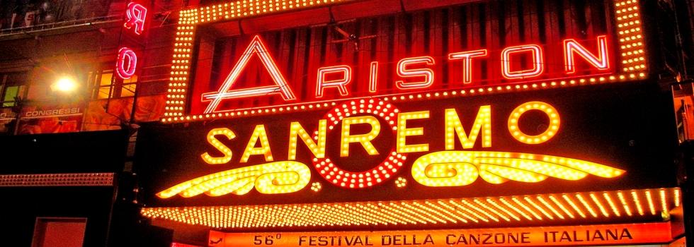 Das italienische Musikfestival von San Remo